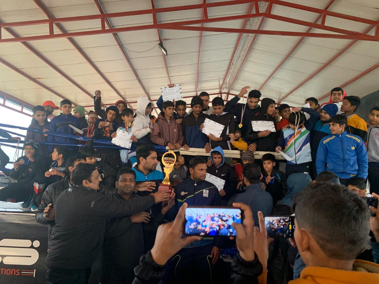 Gohana Boxing Team Has Won The Championship During NCR Open Boxing Championship organised by Rabindranath World School Gurgaon