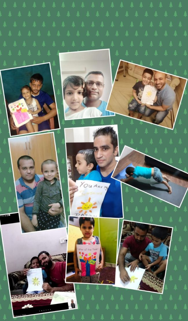 Father's Day celebration at the Mann School